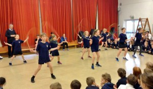National Skipping Day 2016 demonstration